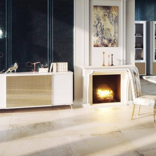 Salon-mueble-auxiliar-madera